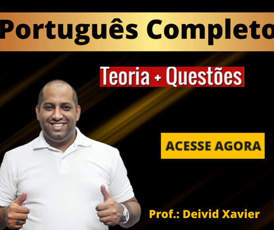 Curso Português Completo para Concursos - Prof. Deivid Xavier