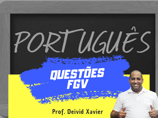 Curso Português - Questões FGV