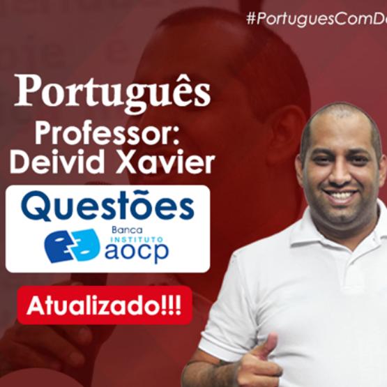 Curso Português - Questões Instituto AOCP
