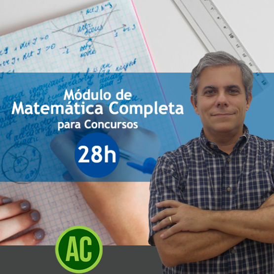 Curso Matemática Completa para concursos