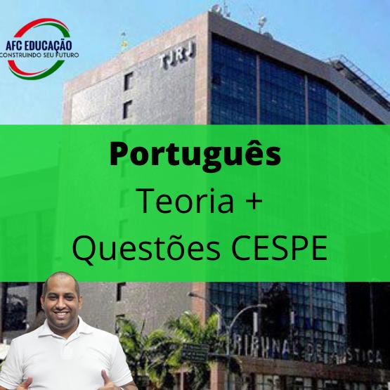 Português (Teoria e Exercícios CESPE) - TJ RJ - Prof. Deivid Xavier
