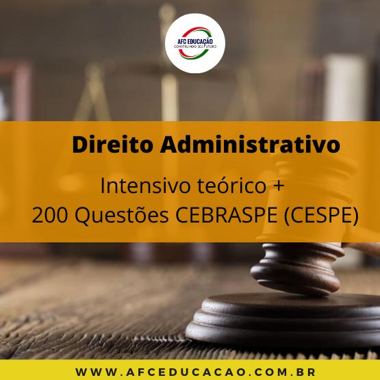 Curso de Direito Administrativo - Teoria e Questões CESPE - Prof. André Queiroz