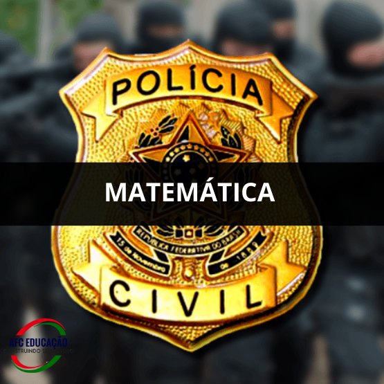 Curso de Matemática - Auxiliar de Necropsia - Polícia Civil (RJ)