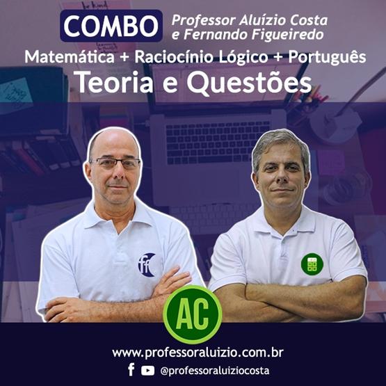 Curso PORTUGUÊS + MATEMÁTICA E RACIOCÍNIO LÓGICO - 60h